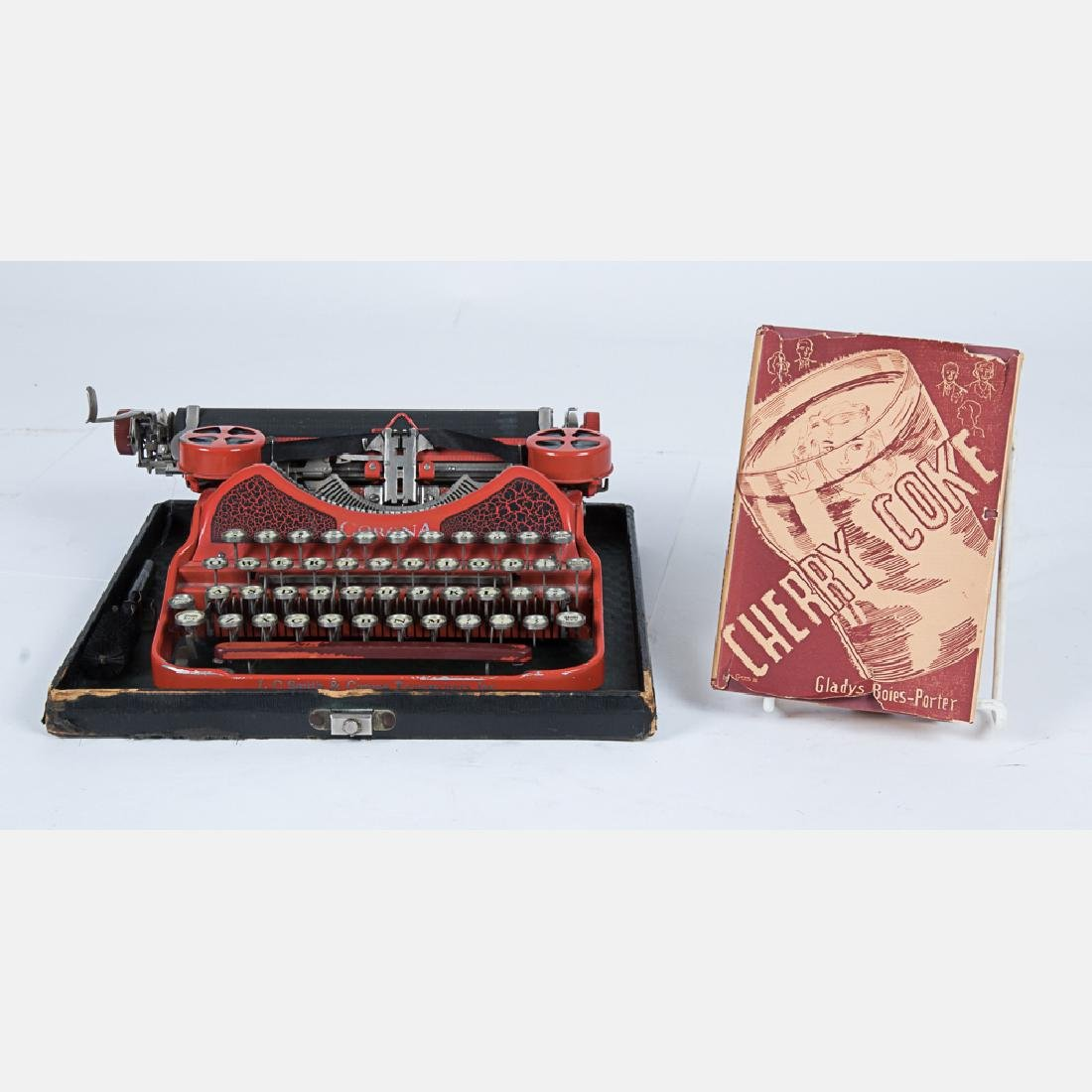 A Vintage Corona Typewriter, 20th Century,