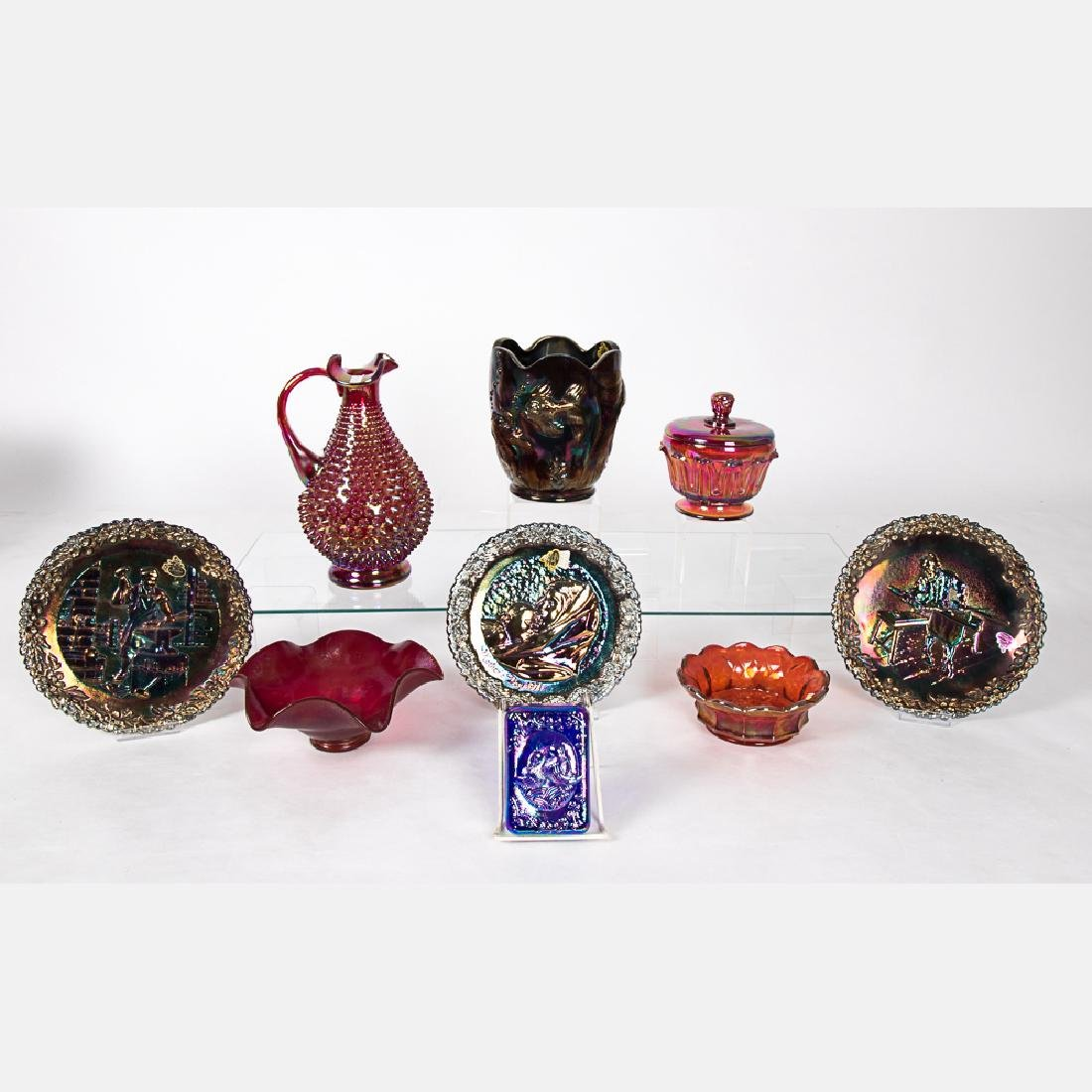 A Miscellaneous Collection of Fenton Amethyst Carnival