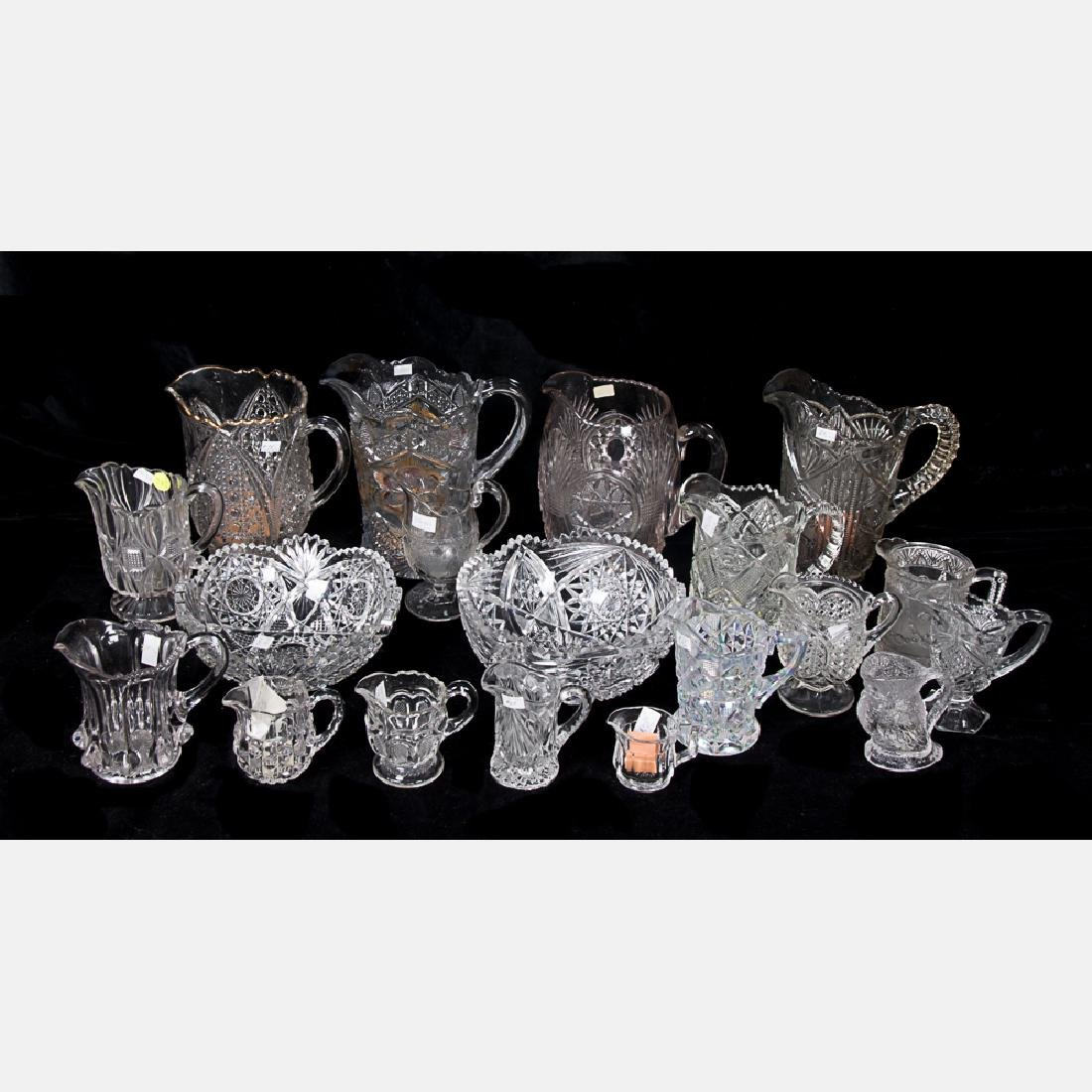 A Collection of American Pattern Glass, 19th/20th