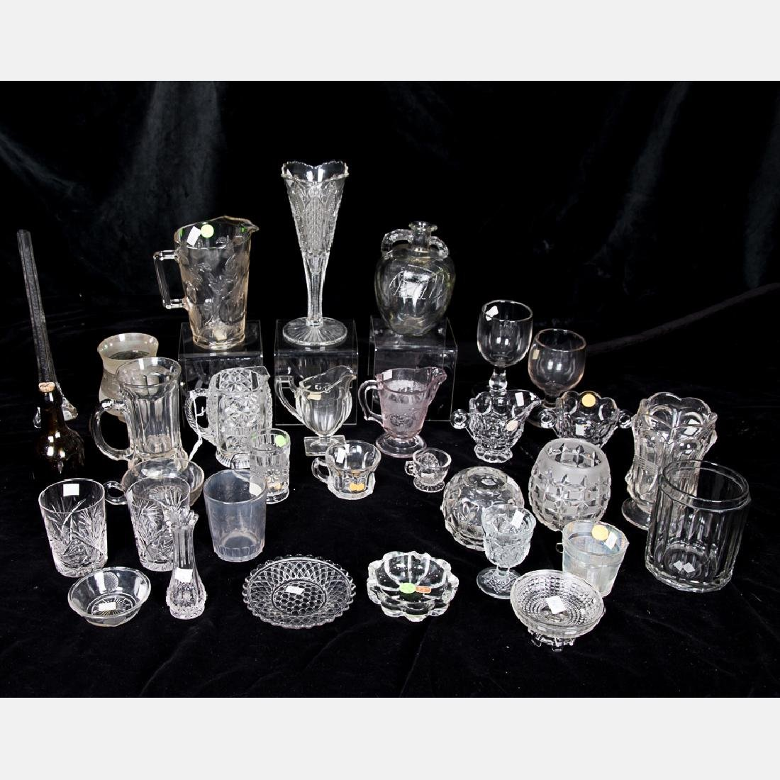 A Collection of American Etched and Pattern Glass