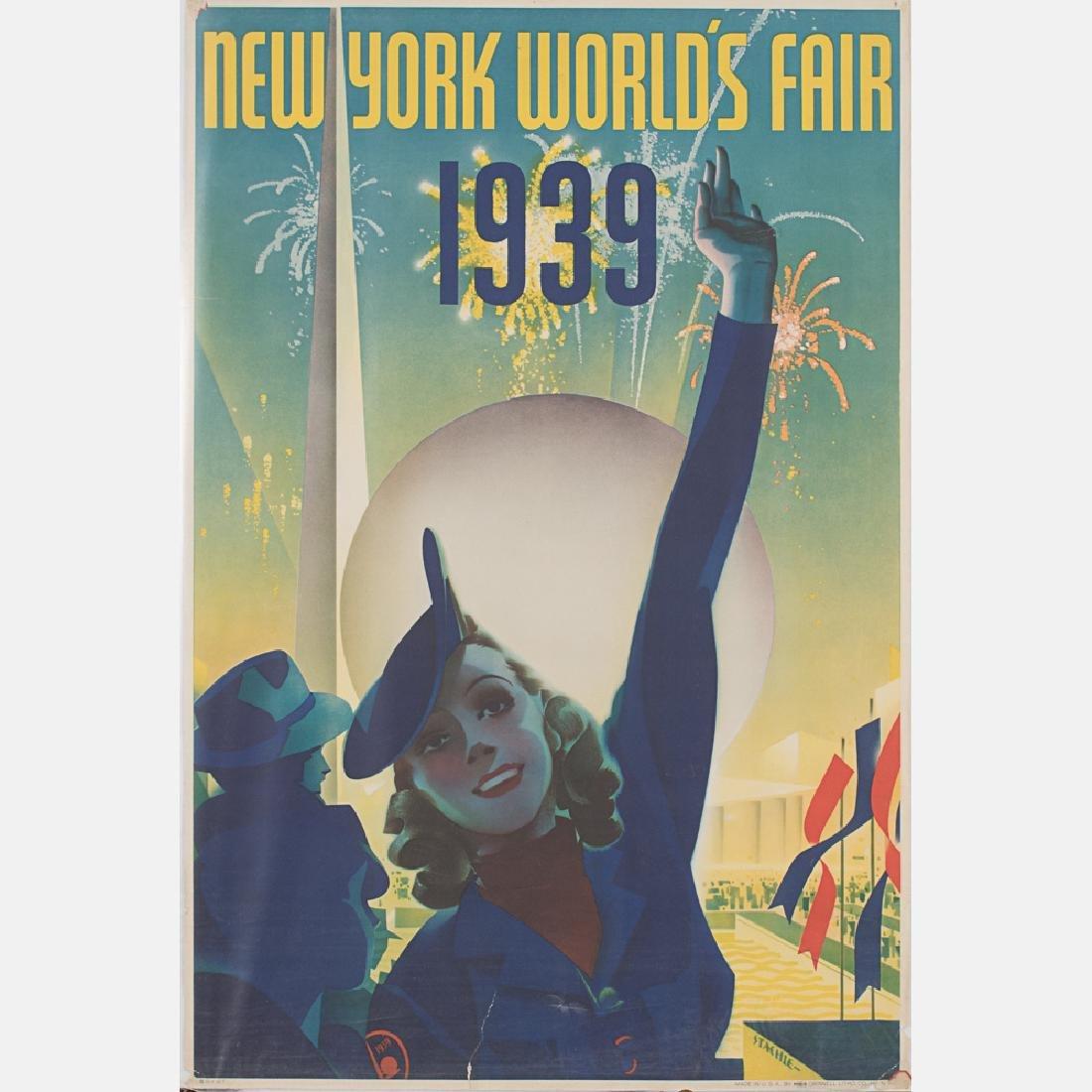 Albert Staehle (1899-1974) New York World's Fair, 1939,
