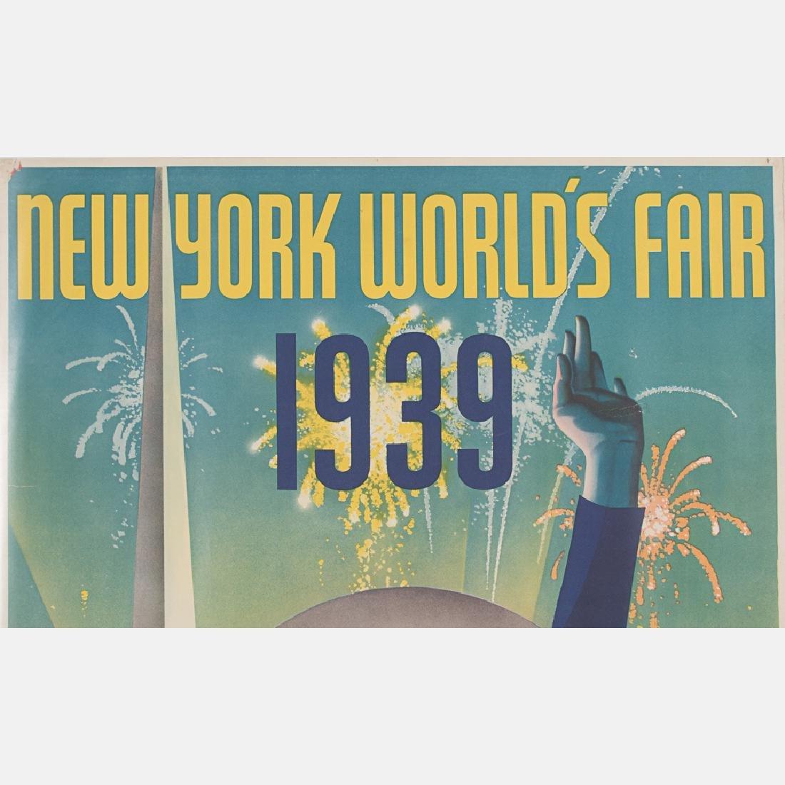 Albert Staehle (1899-1974) New York World's Fair, 1939, - 2
