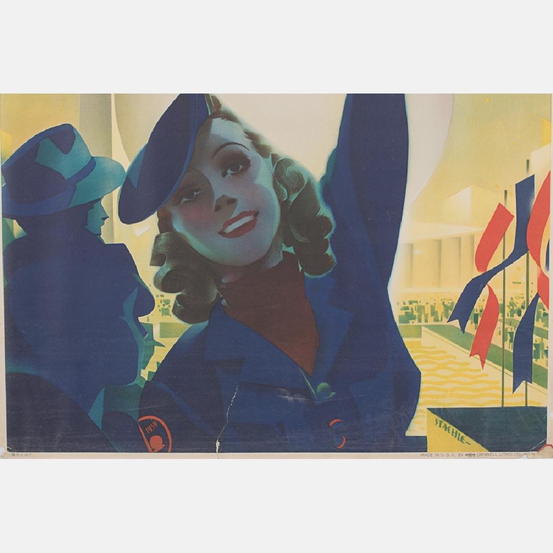 Albert Staehle (1899-1974) New York World's Fair, 1939, - 3