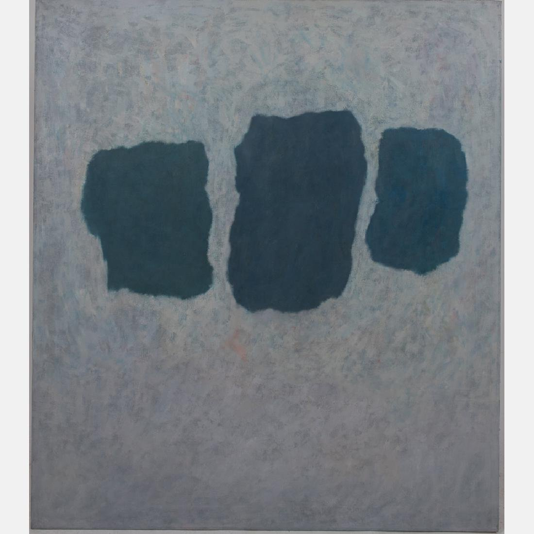Al Newbill (1921-2012) The Trinity, Oil on canvas,