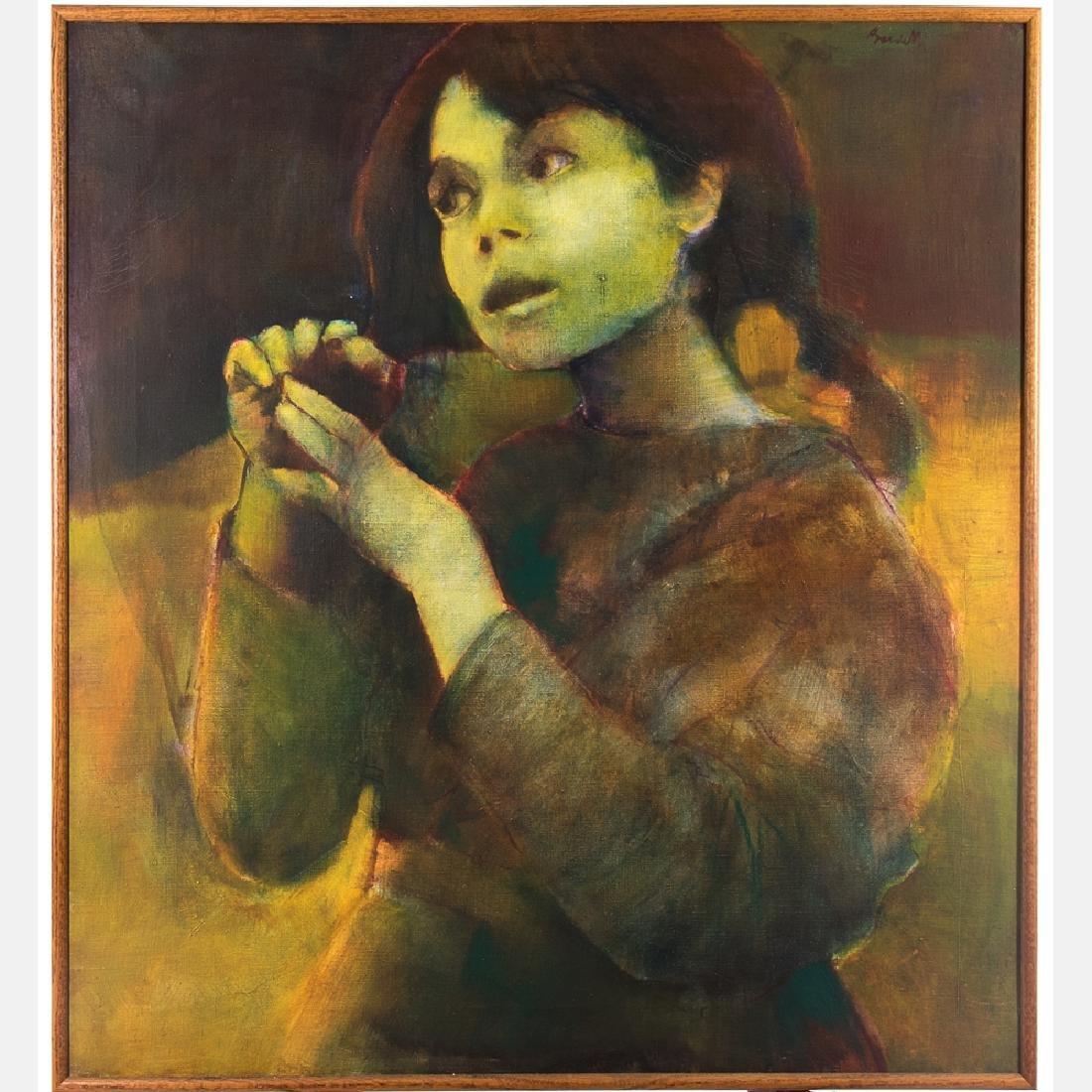 Ademaro Bardelli (b. 1934) Pittura Per Una Bamina, Nov.