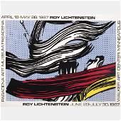 Roy Lichtenstein (1923-1997) Brushstrokes at Pasadena