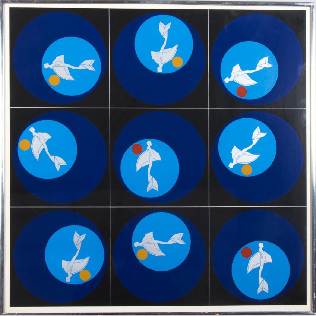 Ernest Trova (1927-2009) Shadows, Planes and Targets,