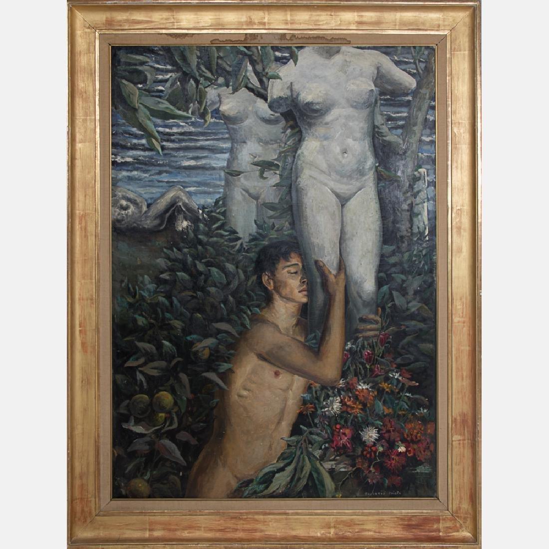 Gregorio Prieto Munoz (1897-1992) Untitled (Male Nude