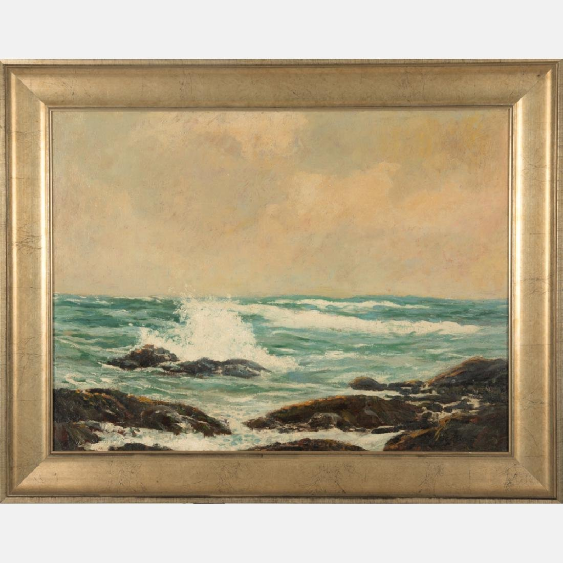 George Forest Payne (20th Century) Seascape, Oil on