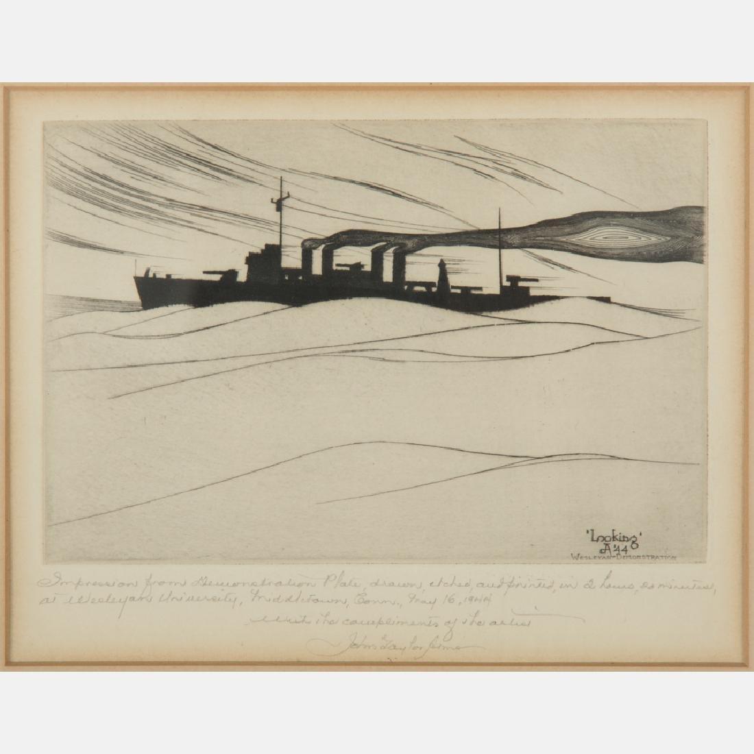 John Taylor Arms (1887-1953) Looking,