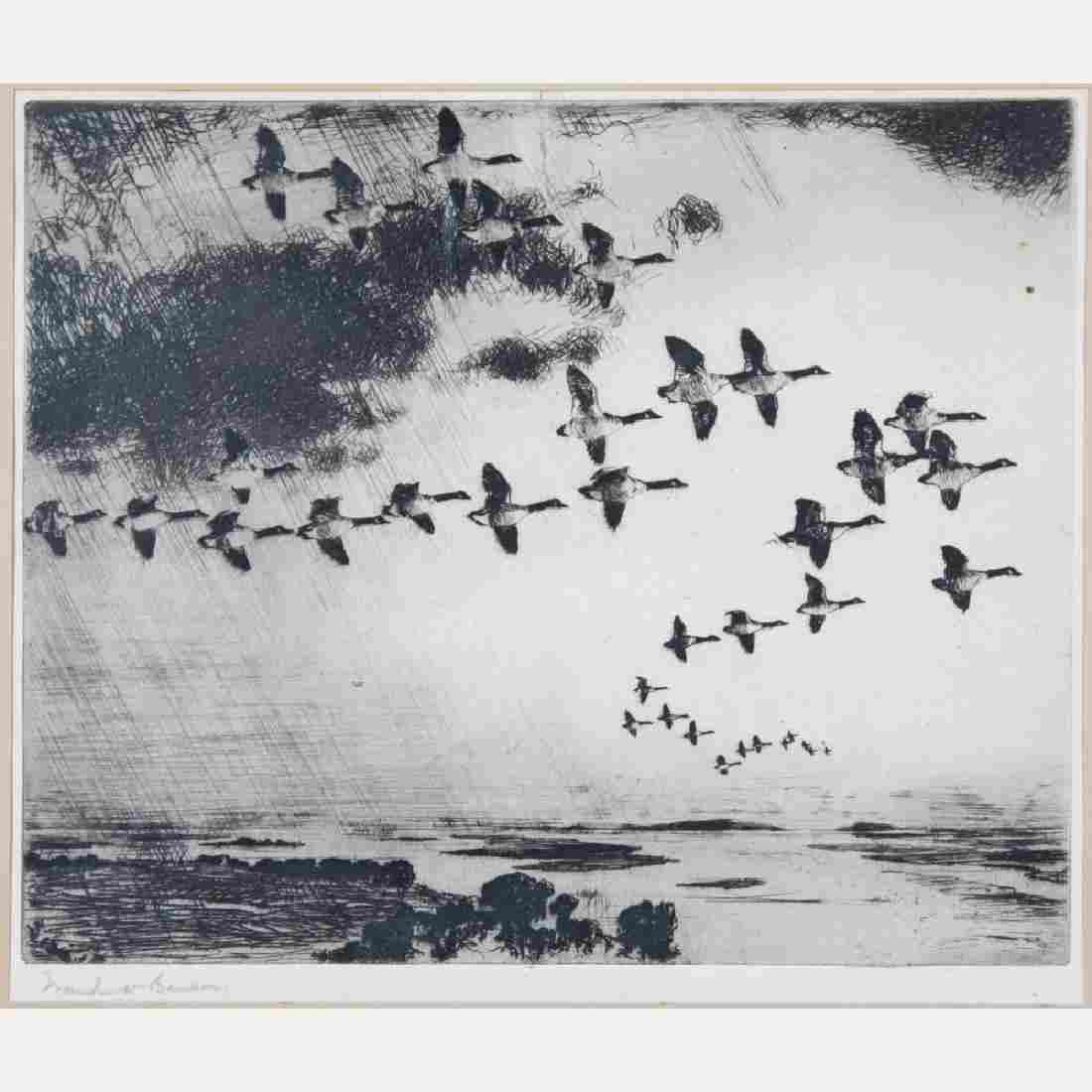 Frank Weston Benson (1862-1951) The Long Journey,