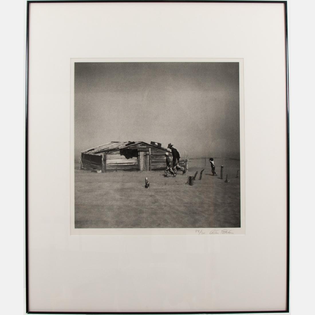Arthur Rothstein (1915-1985) Dust Storm (Cimarron