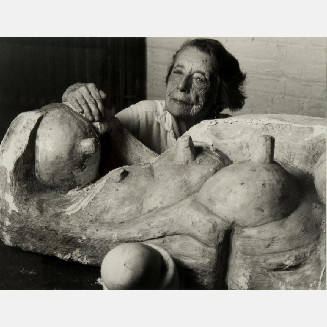 Abe Frajndlich (b. 1946) Louise Bourgeois, Brooklyn,
