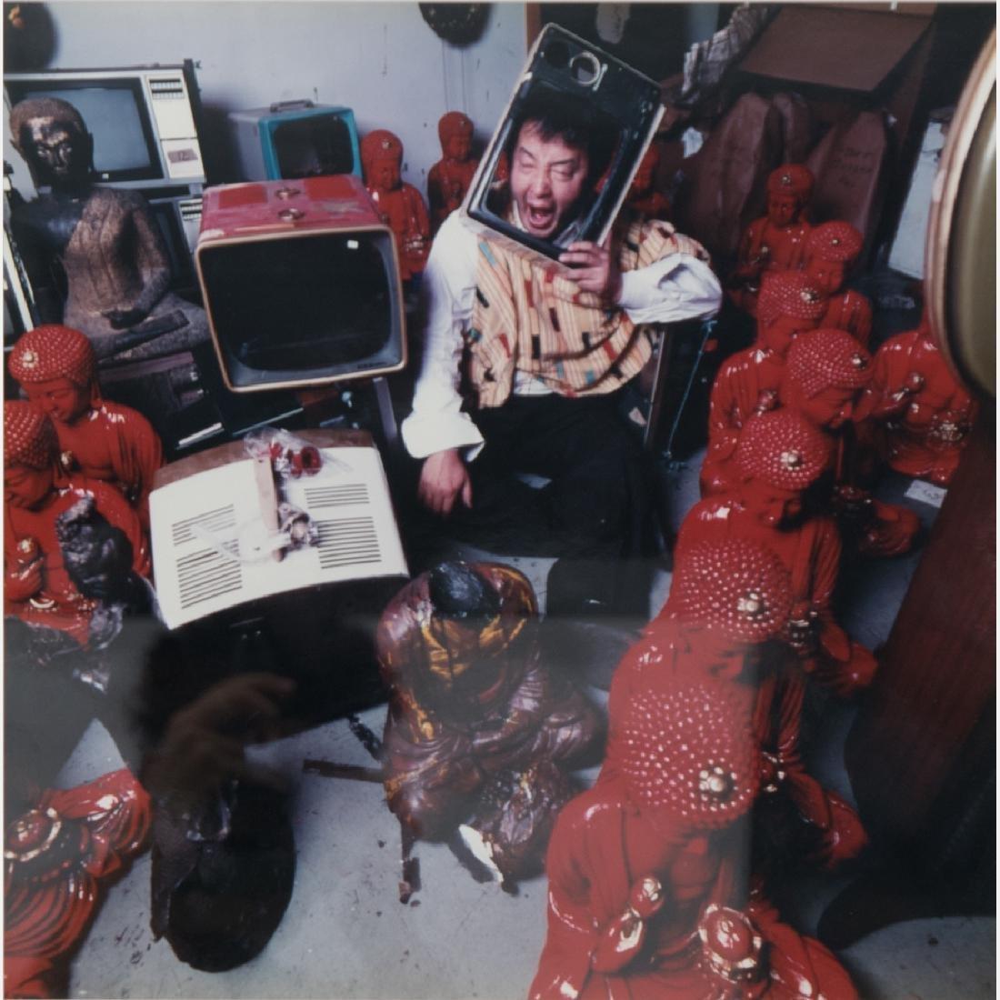 Abe Frajndlich (b. 1946) Nam Jun Paik, NYC, 12/11/89,