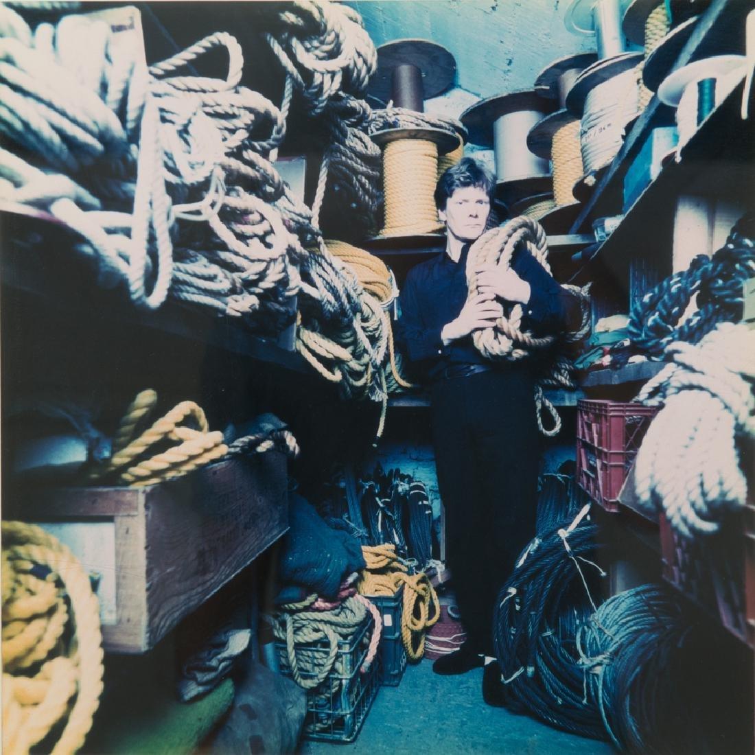Abe Frajndlich (b. 1946) Philip Petit, NYC, 7/27/92,