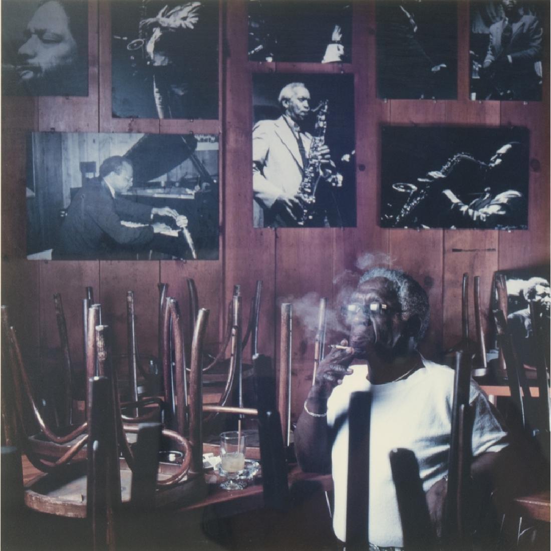 Abe Frajndlich (b. 1946) Art Blakee, NYC, 4/20/86,