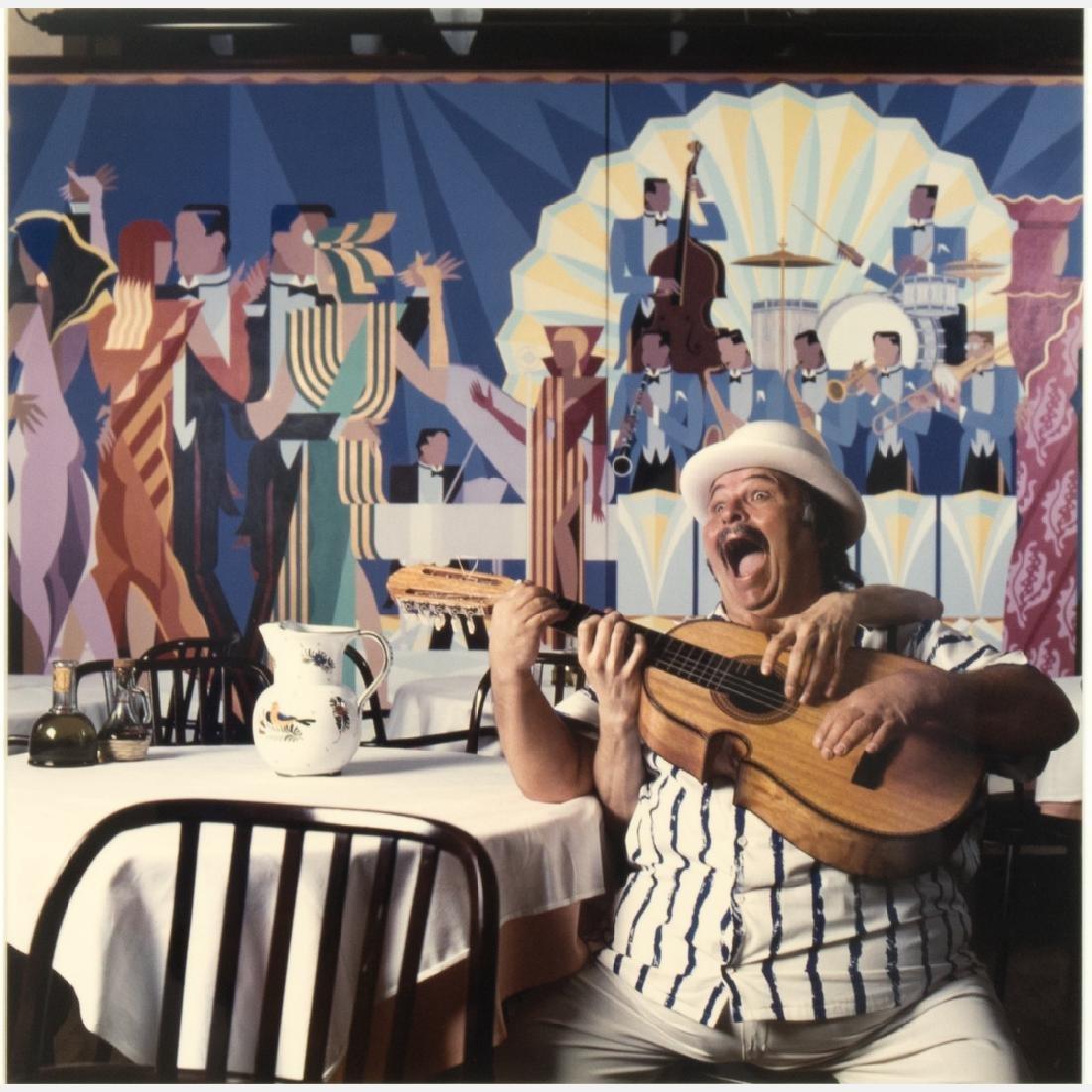 Abe Frajndlich (b. 1946) Yomo Toro, NYC, 3/14/88,