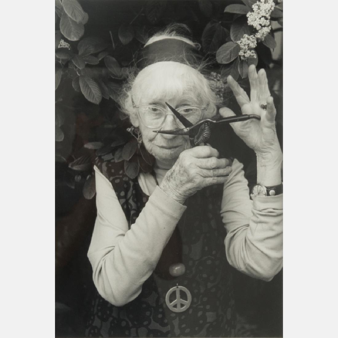 Abe Frajndlich (b. 1946) Imogen Cunningham, San