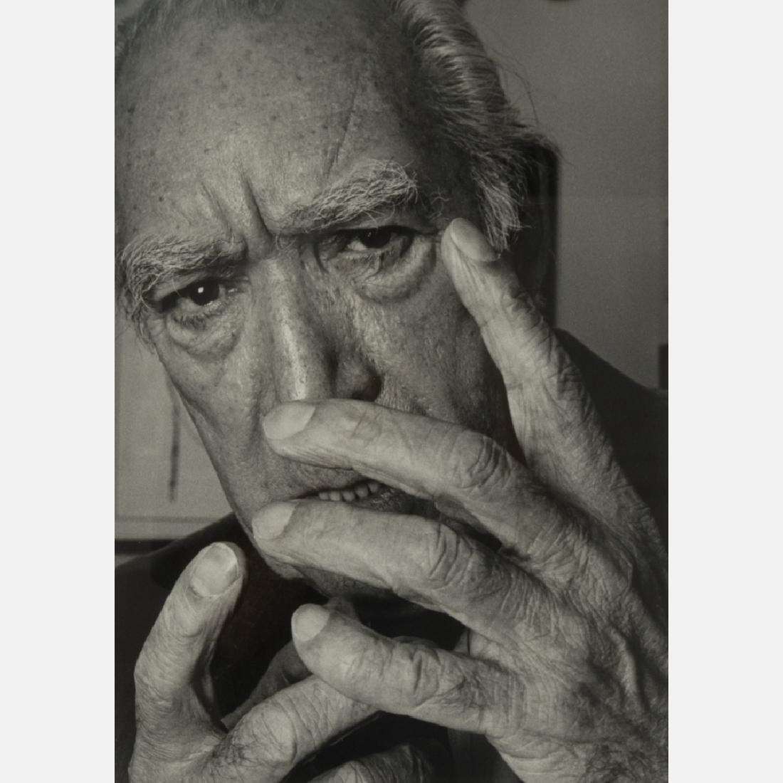 Abe Frajndlich (b. 1946) Anthony Quinn, NYC, 6/18/95,
