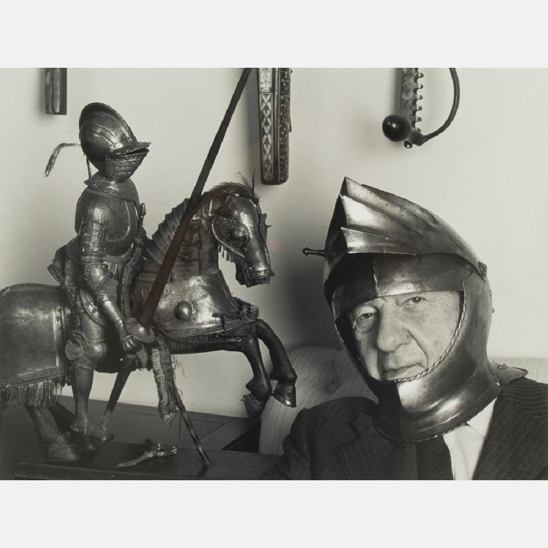 Abe Frajndlich (b. 1946) Charles Addams, NYC, 4/21/88,