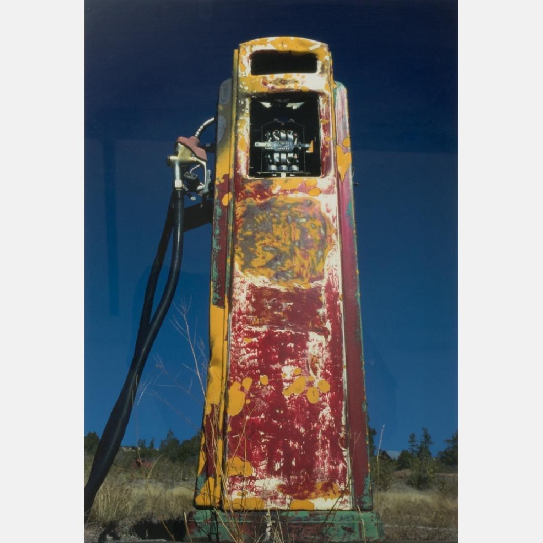 Lynn Radeka (20th Century) Gas Pump, Alton, Utah, 1978,
