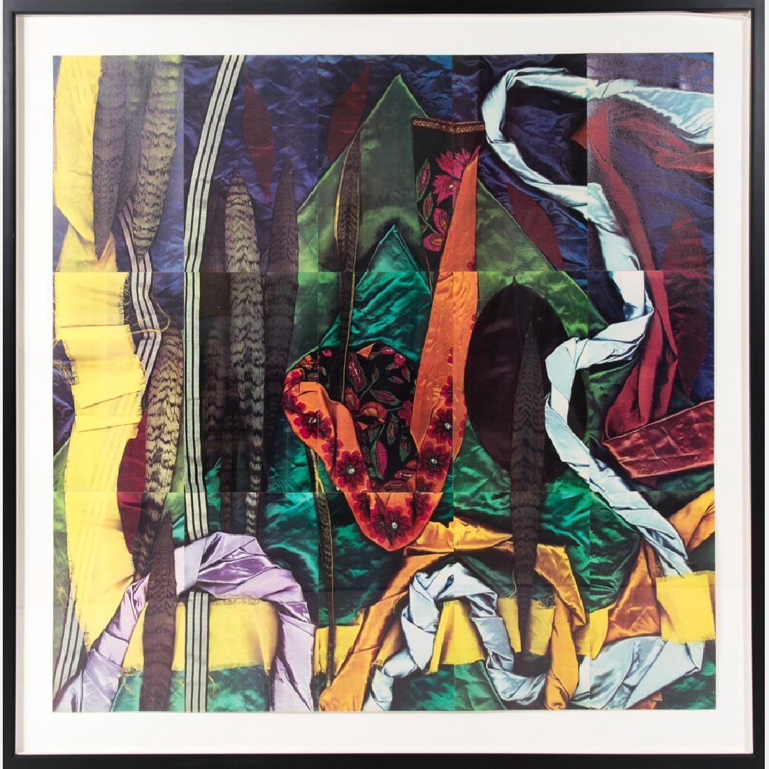 Garie Waltzer (b. 1947) Ficus-Sash, 1983, Color Xerox,