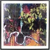 Garie Waltzer (b. 1947) Ficus-Cactus, 1983,