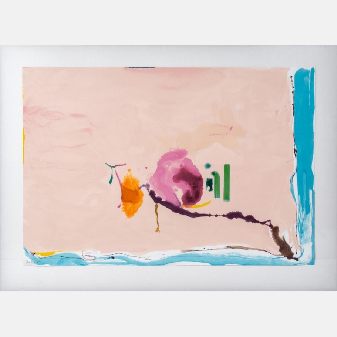 Helen Frankenthaler (1928-2011) Flirt, 1995, Silkscreen