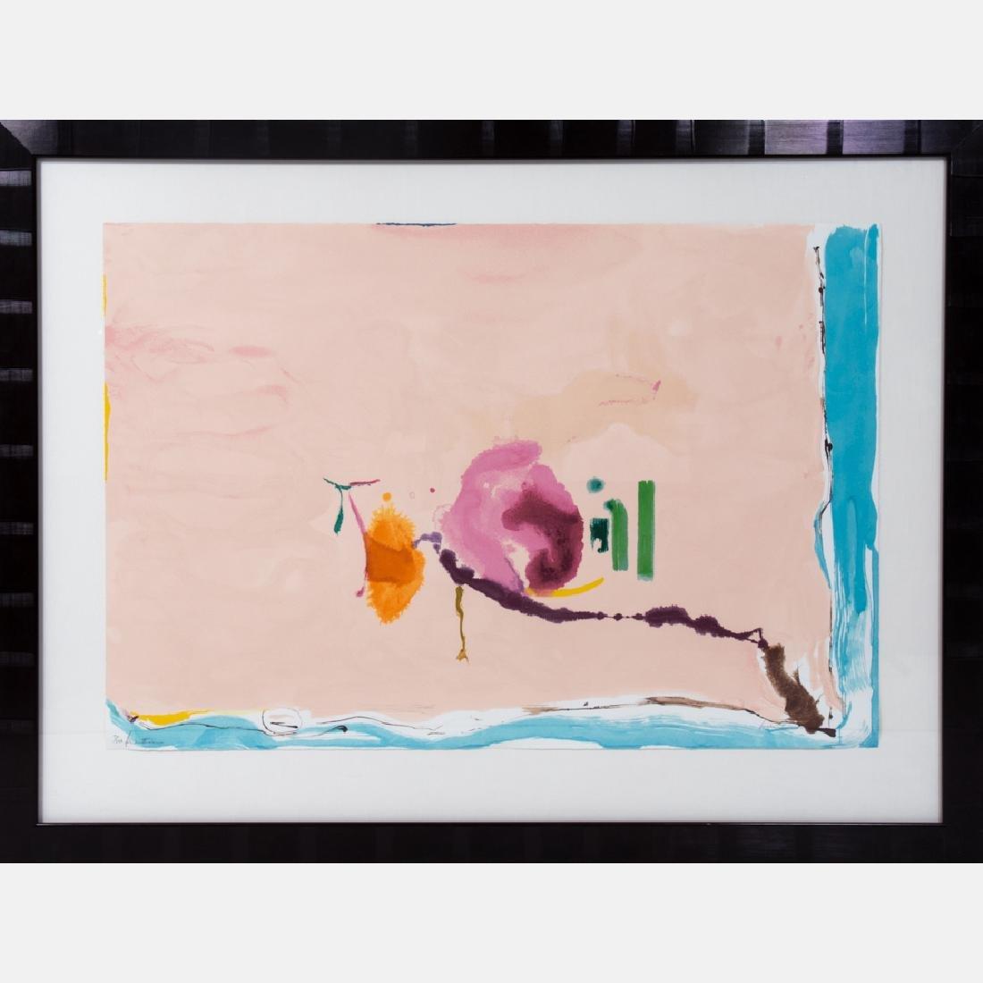 Helen Frankenthaler (1928-2011) Flirt, 1995, Silkscreen - 2