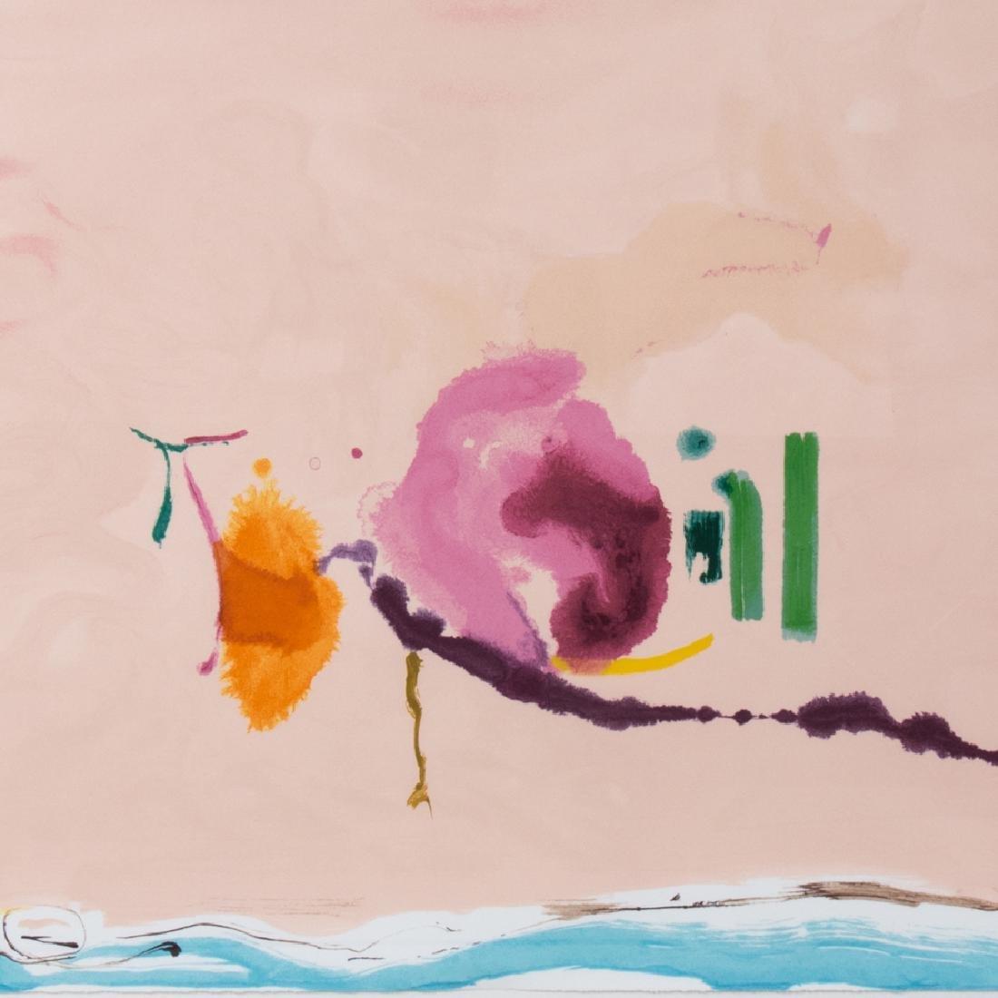 Helen Frankenthaler (1928-2011) Flirt, 1995, Silkscreen - 3
