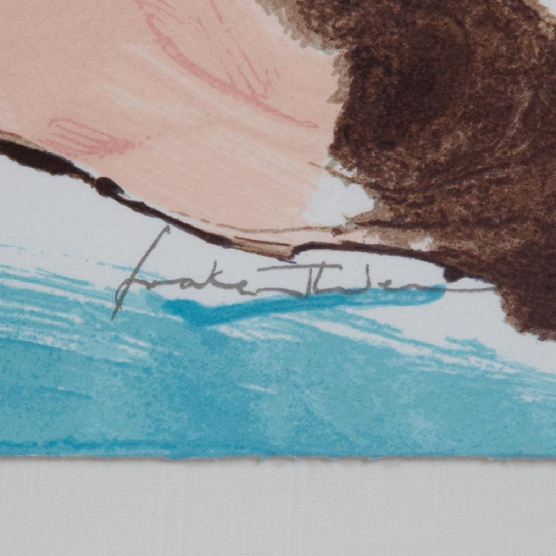 Helen Frankenthaler (1928-2011) Flirt, 1995, Silkscreen - 4