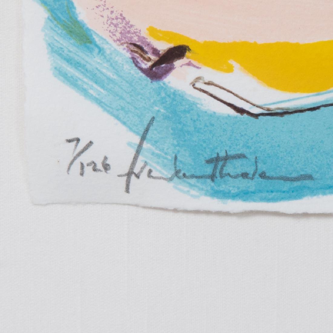 Helen Frankenthaler (1928-2011) Flirt, 1995, Silkscreen - 5