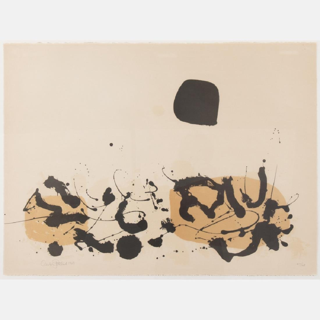 Adolph Gottlieb (1903-1974) Germination Li, 1969,