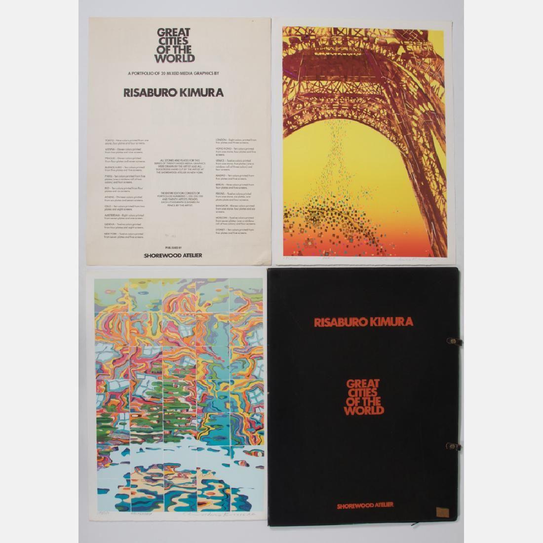 Risaburo Kimura (b. 1924) Great Cities of the World,