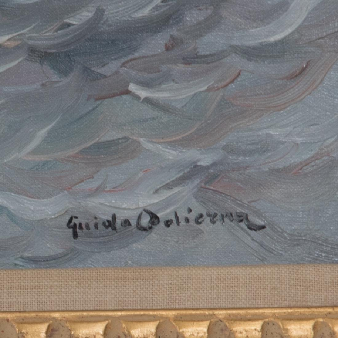 Guido Odierna (1913-1991) Surf, Oil on canvas, - 2