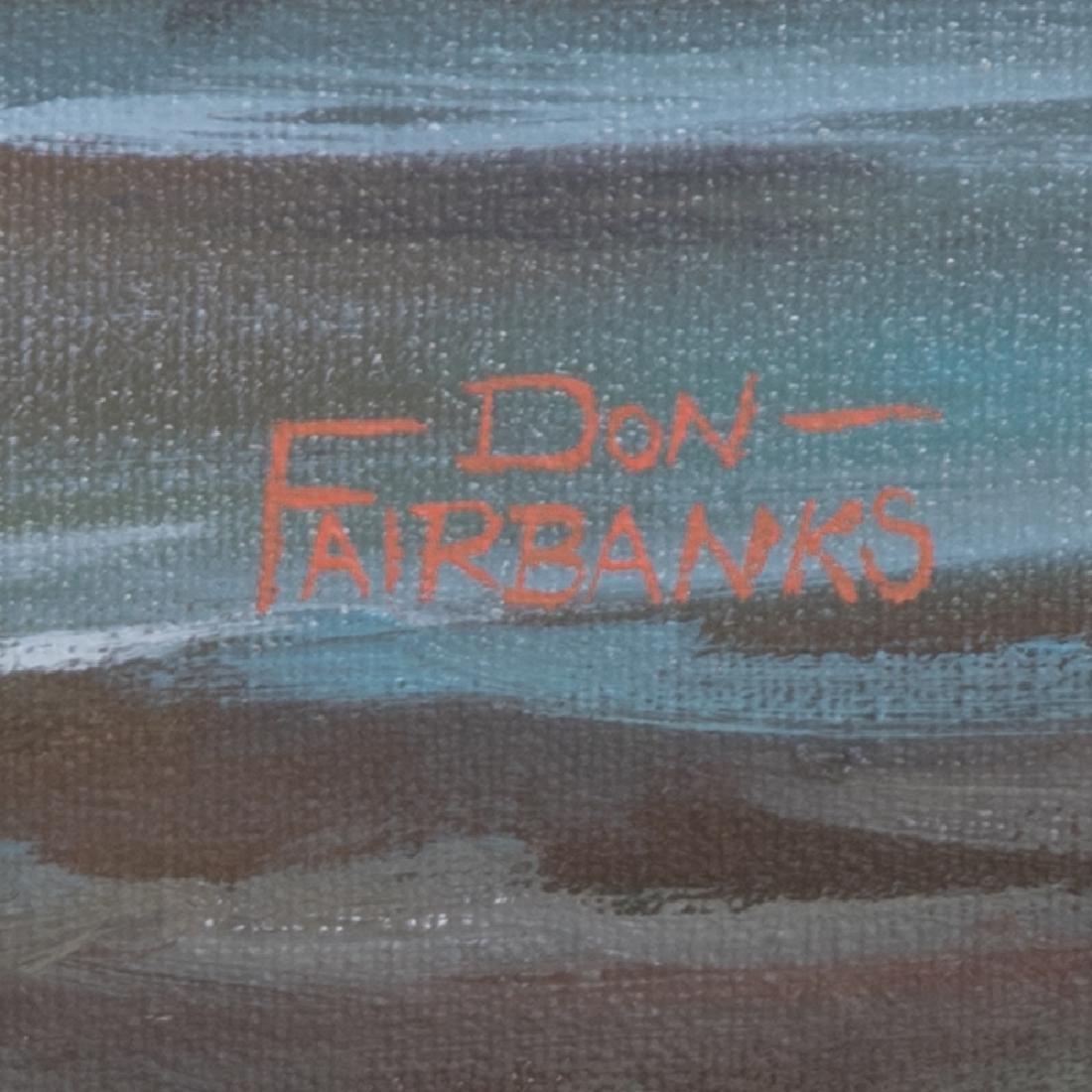 Don Fairbanks (20th Century) Rocky Shoreline, Oil on - 2