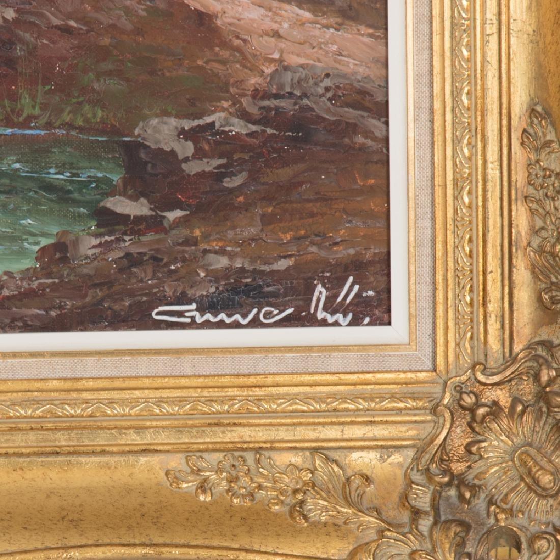 Gustav Weiss (1886-1973) Alpine Scene, Oil on canvas, - 2