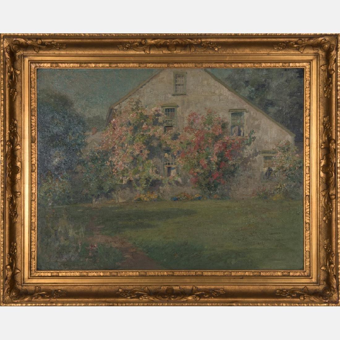 Edmund Henry Garrett (1853-1929) Landscape with House,