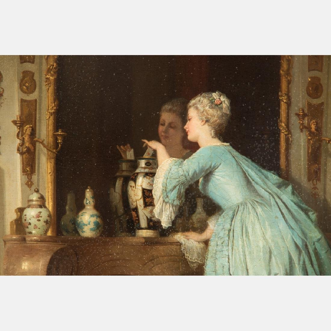Alfred Emile Leopold Stevens (1823-1906) The Love Note, - 11