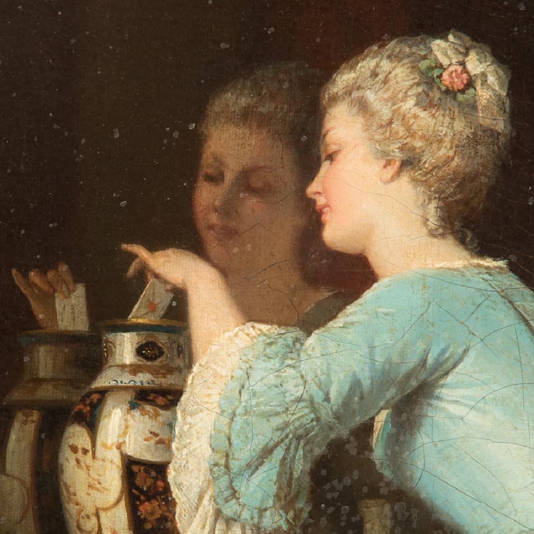 Alfred Emile Leopold Stevens (1823-1906) The Love Note, - 13
