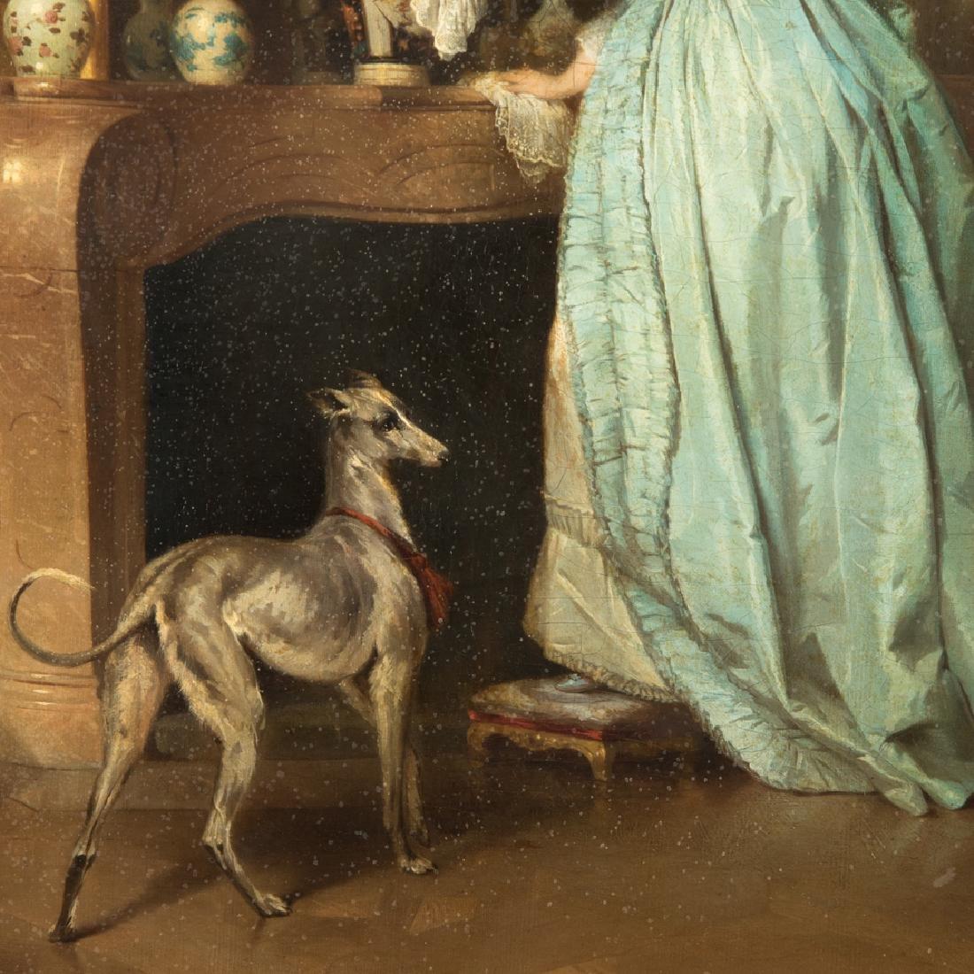 Alfred Emile Leopold Stevens (1823-1906) The Love Note, - 14
