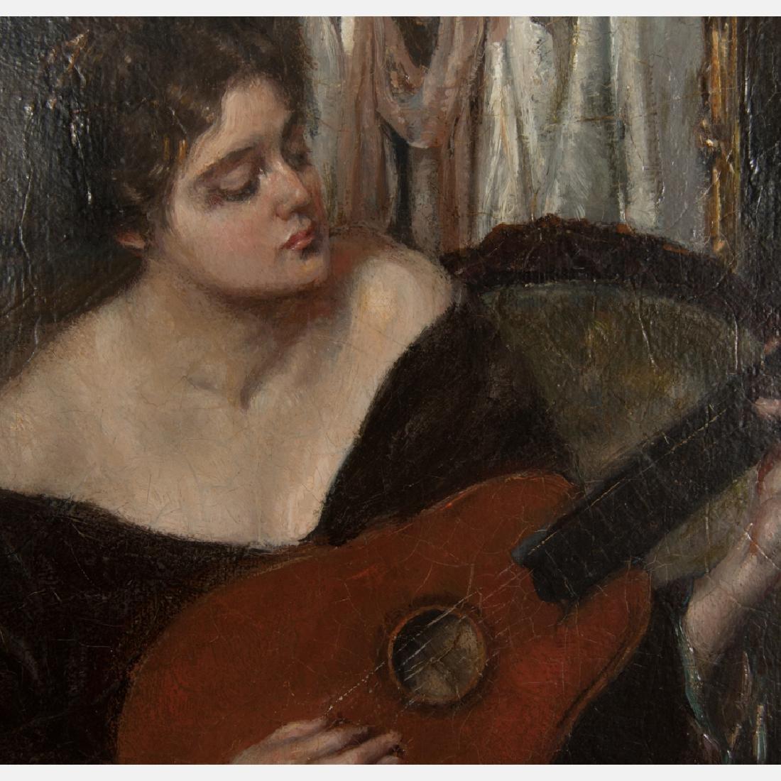 Jan Schreuder van de Coolwijk (1868-1962) Woman Playing - 3