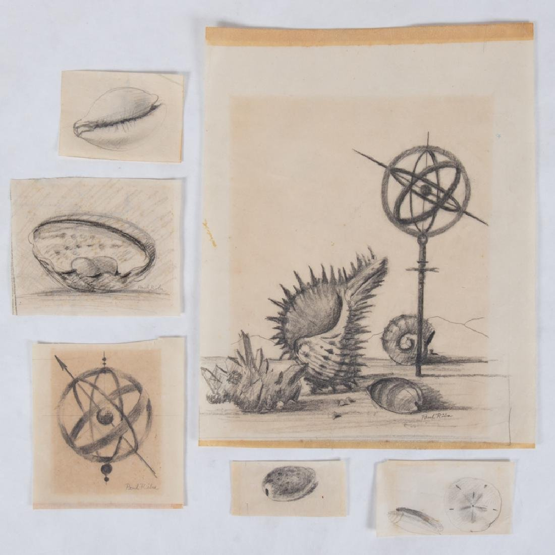 Paul Riba (1912-1977) A Group of Six Studies of