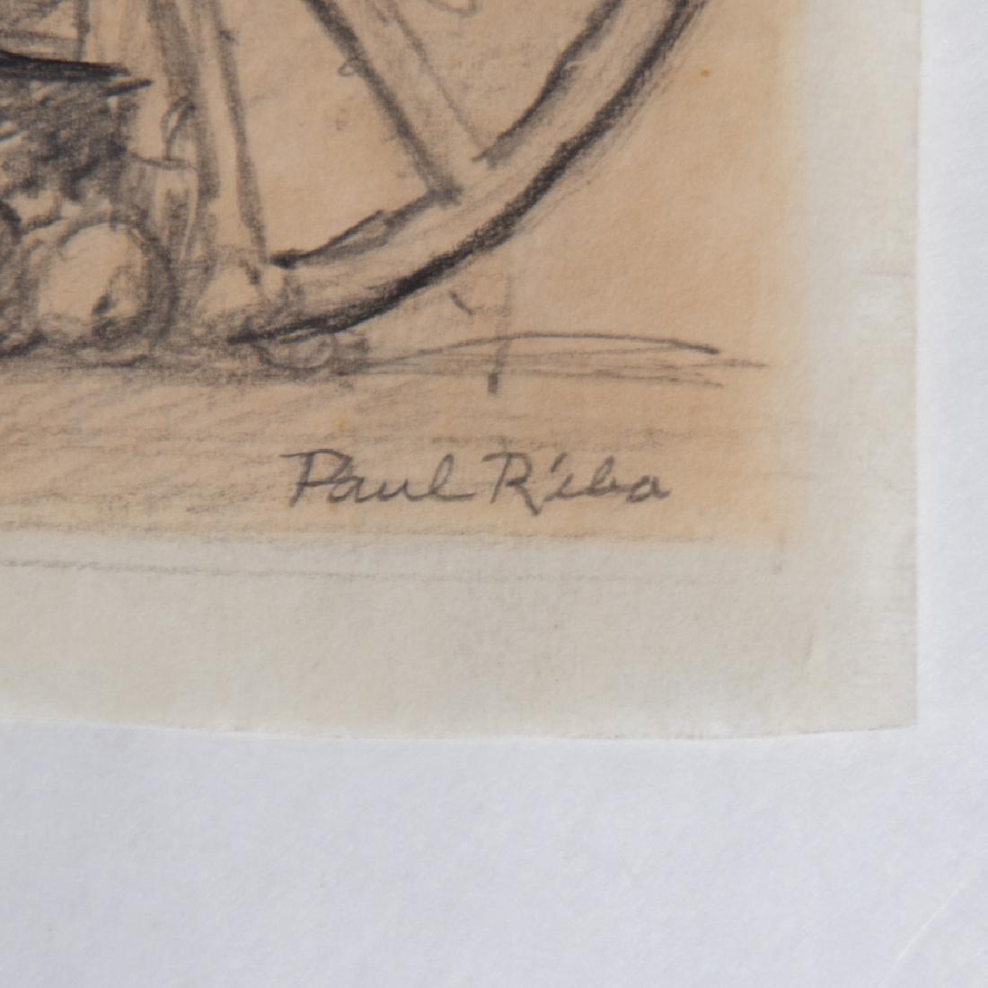 Paul Riba (1912-1977) A Group of Six Studies of Birds - 3