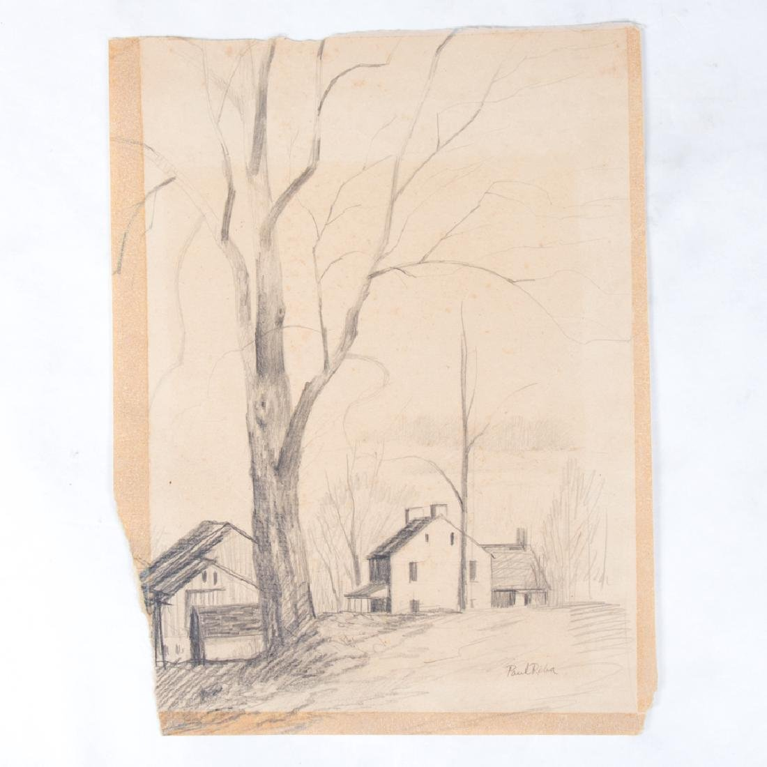 Paul Riba (1912-1977) A Group of Three Studies, Pencil - 2