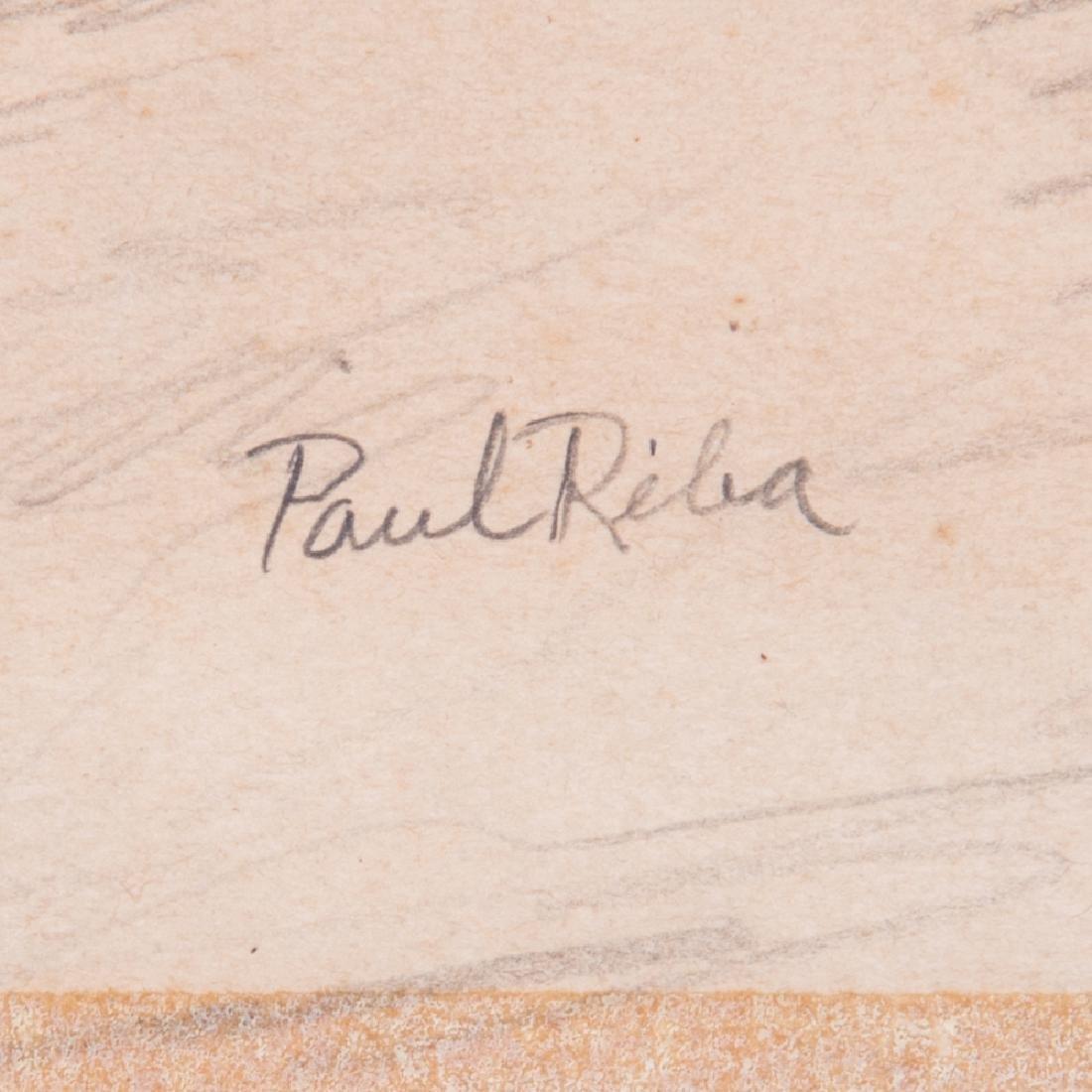 Paul Riba (1912-1977) A Group of Three Studies, Pencil - 3