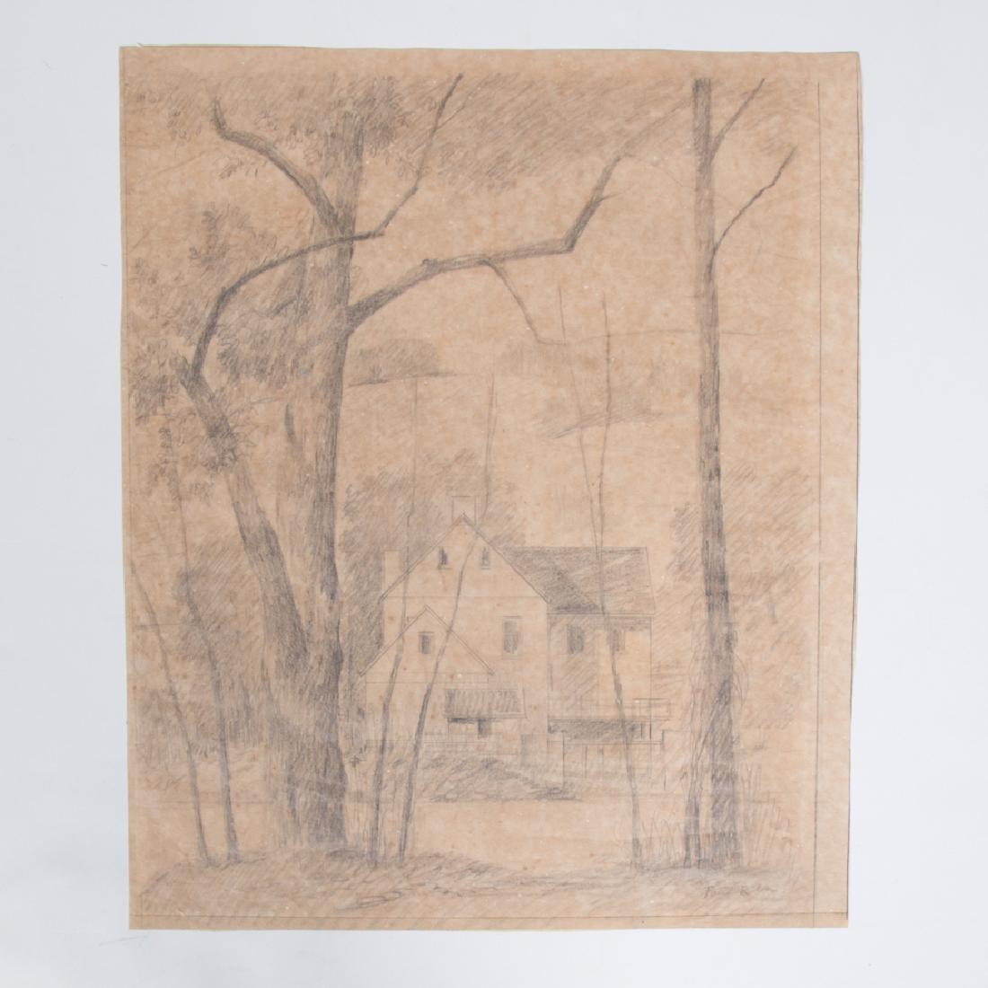 Paul Riba (1912-1977) A Group of Three Landscape - 2