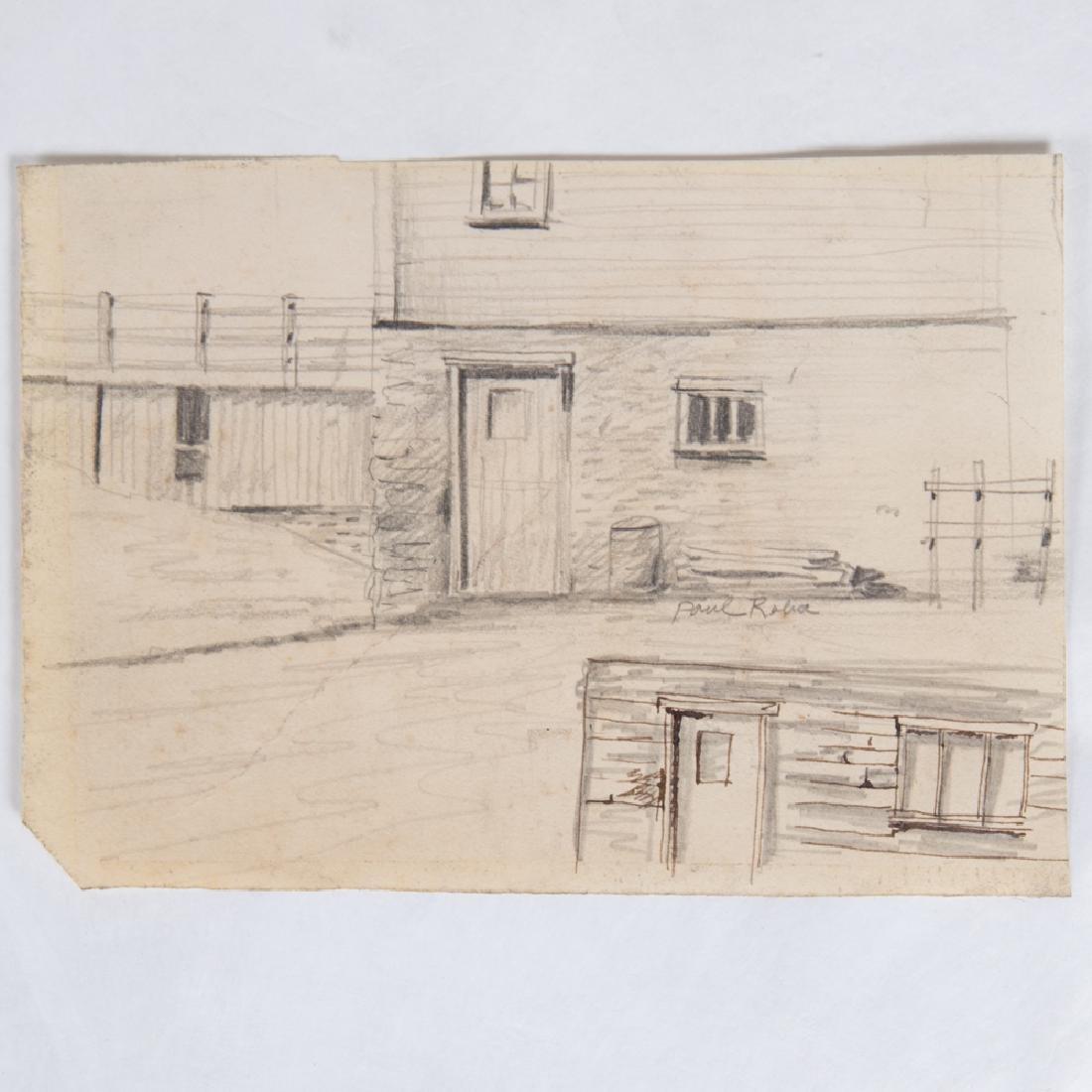 Paul Riba (1912-1977) A Group of Five Studies, Pencil - 2