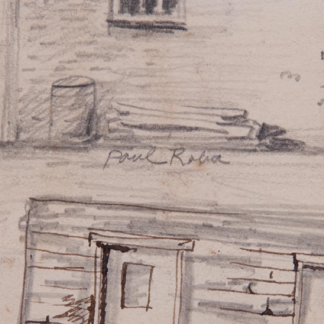 Paul Riba (1912-1977) A Group of Five Studies, Pencil - 3