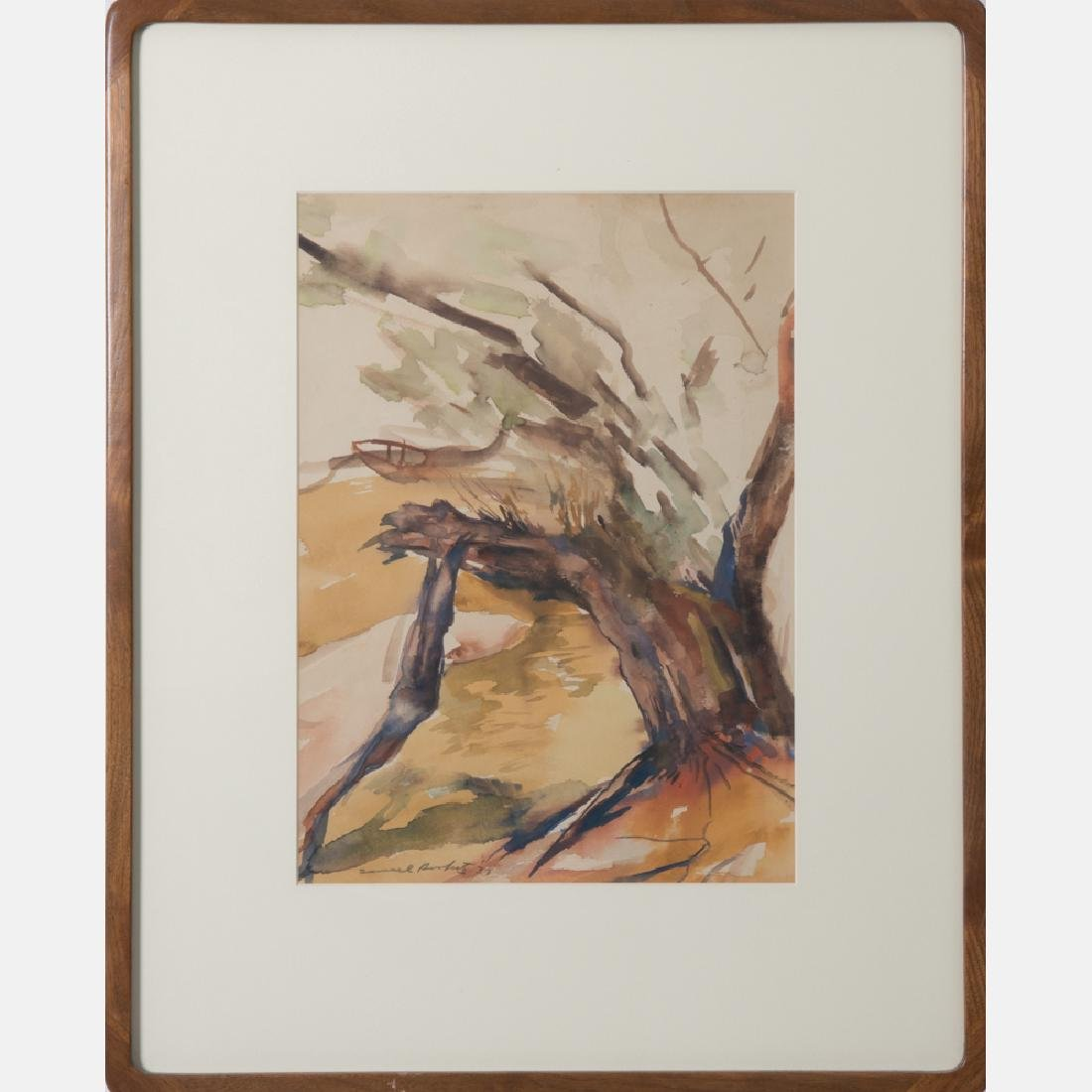 Samuel Bookatz (1910-2009) Untitled, Watercolor,